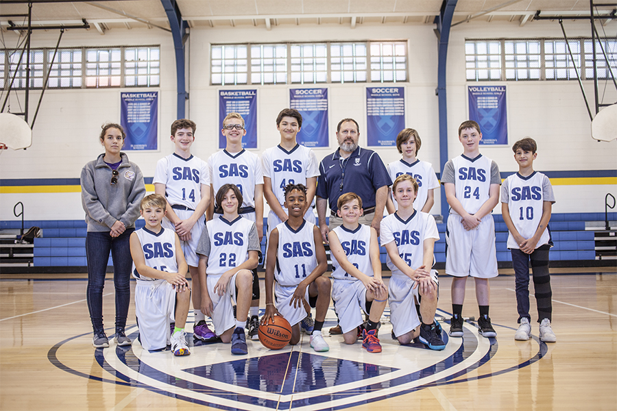 fc3615131 2018-2019 SAS Middle School Boys  Basketball Team